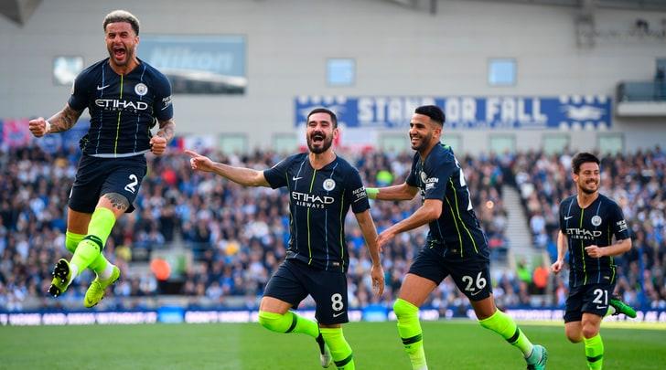 Il City batte 4-1 il Brighton e fa sua la Premier