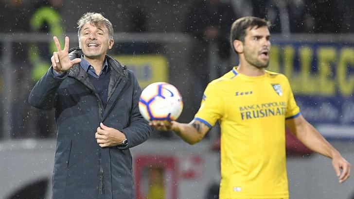 Serie A Frosinone, Baroni: «Futuro? Dopo il 26 maggio»
