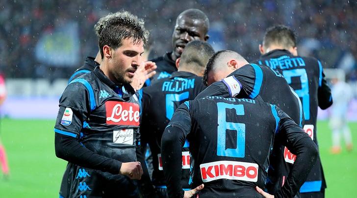 Spal-Napoli 1-2: terza vittoria di fila per Ancelotti