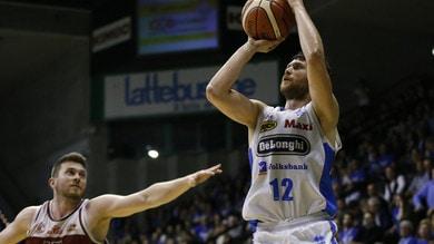 Basket, Serie A2: successo per Treviso, Verona e Montegranaro