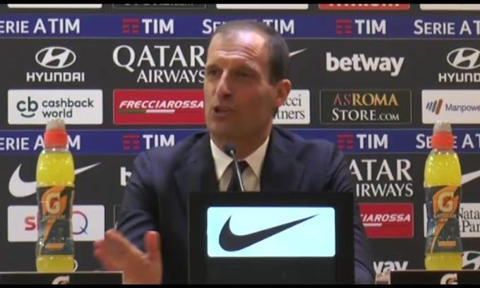 """Allegri: """"Roma mi piace, ma rinnovo con la Juve"""""""