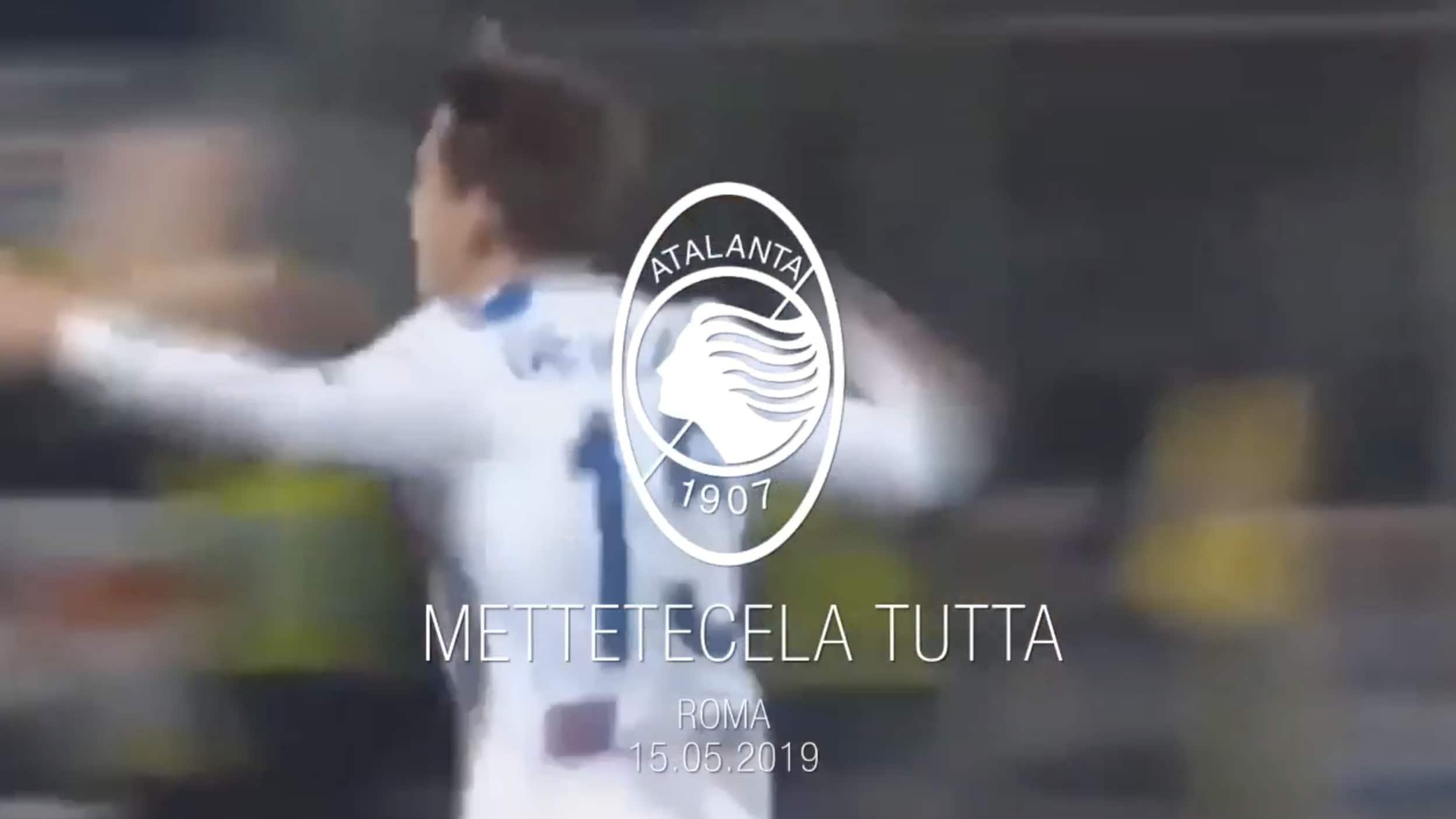 Atalanta verso la finale di Coppa: «La storia ci sta aspettando»