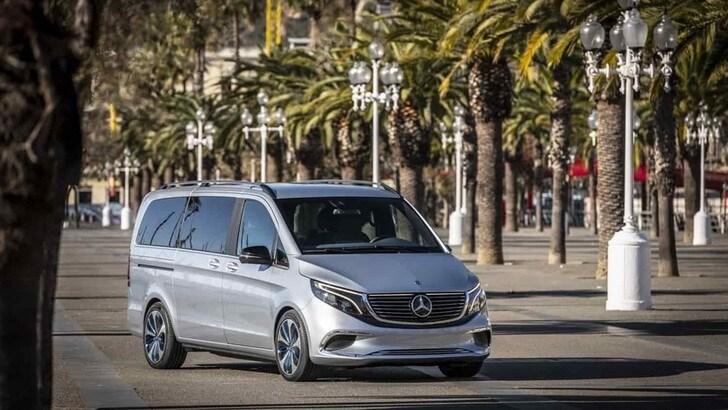 Mercedes EQV: il nuovo van di lusso ed elettrico