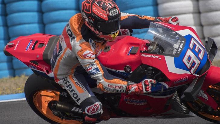 MotoGp, Honda: per Marquez giro d'onore alla Red Bull Arena