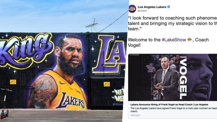 NBA, Los Angeles Lakers: Frank Vogel è il nuovo coach