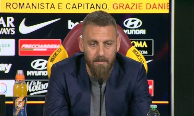 """De Rossi sul futuro: """"Sono ancora un giocatore"""""""