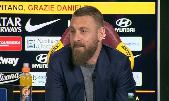 """De Rossi: """"Un giorno parlerò con Baldini ed il presidente.."""""""