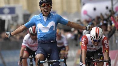 Giro d'Italia: Carapaz vince la quarta tappa. Roglic rimane in maglia rosa