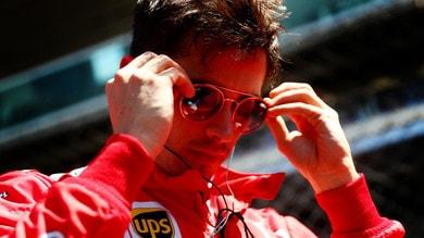 F1 Ferrari, Leclerc: «Soddisfatto dalla giornata di test»