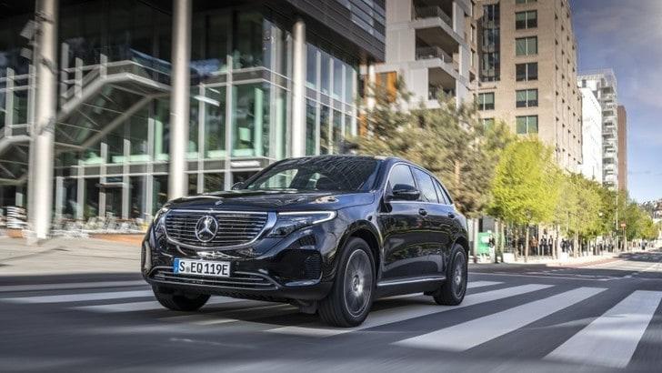 Nuova Mercedes-Benz EQC: il primo suv elettrico