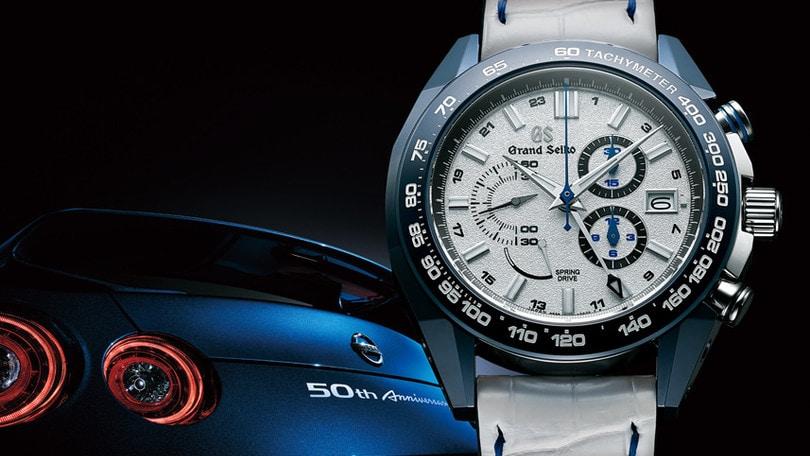 Nissan GT-R si abbina al nuovo cronografo Seiko