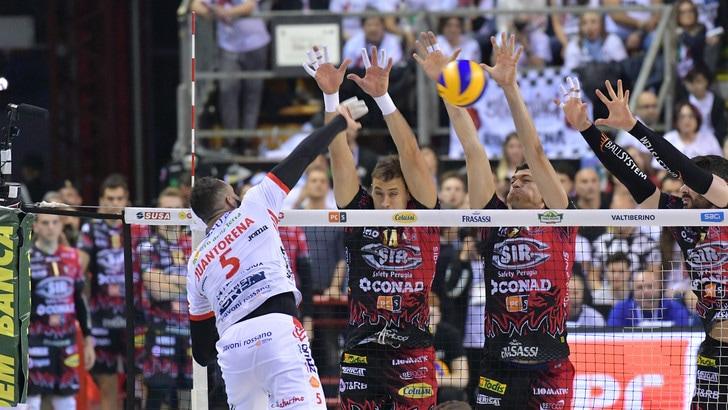 Volley: eccellenti ascolti Rai per Gara 5 fra Perugia e Civitanova