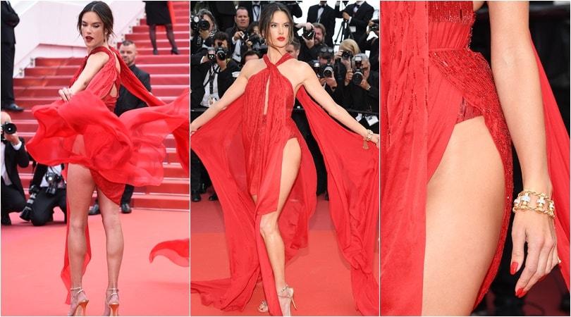 Alessandra Ambrosio, che spacco sul red carpet!