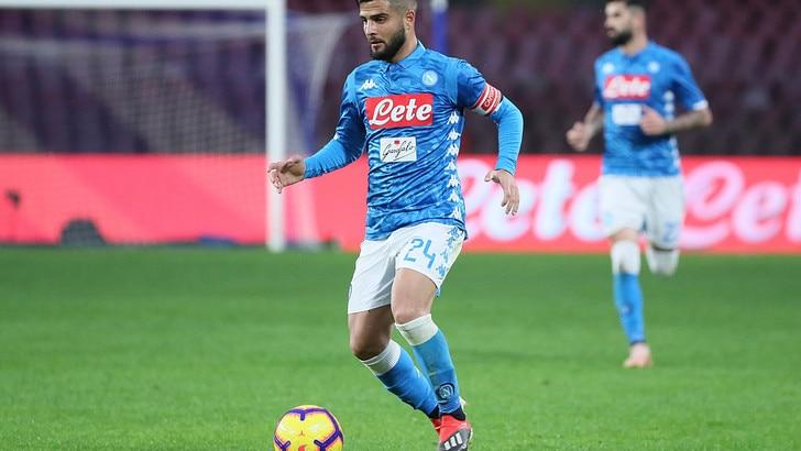 Serie A Napoli, ancora una seduta differenziata per Insigne