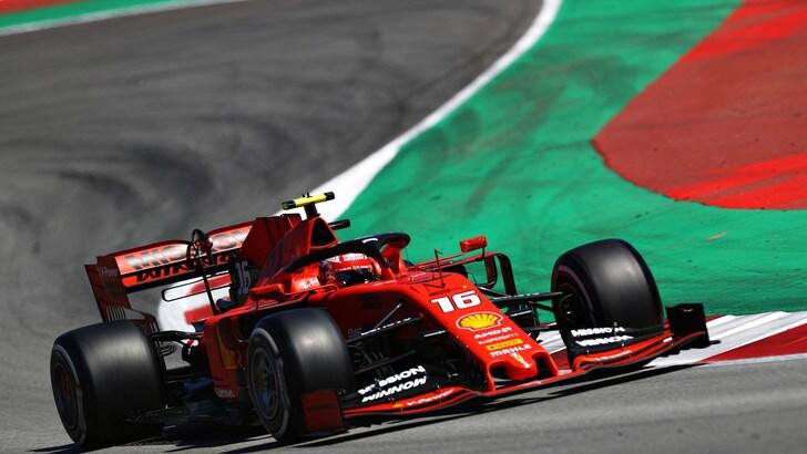 F1, test Barcellona: Mazepin centra il miglior tempo, quarto Leclerc