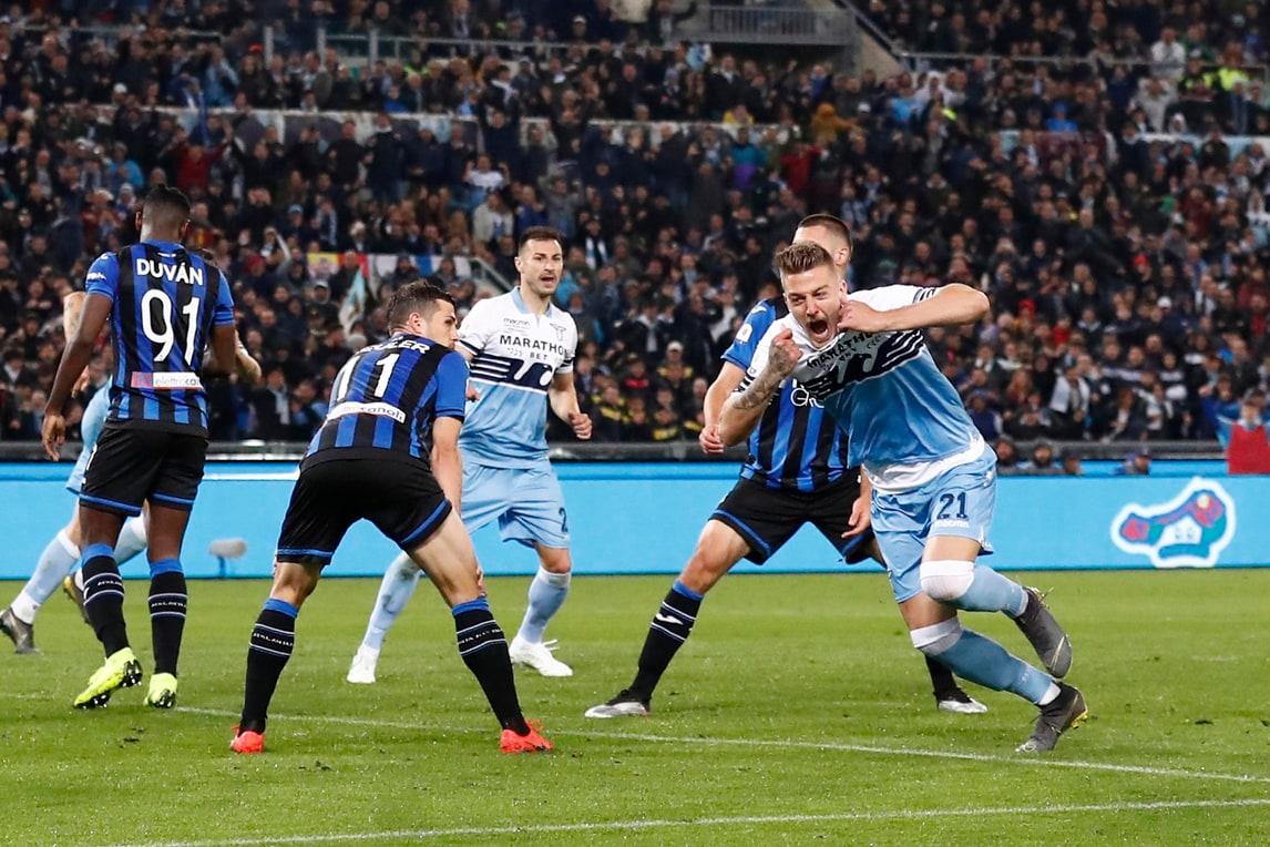 Milinkovic Savic e Correa decidono la Coppa Italia. Trionfo Lazio!