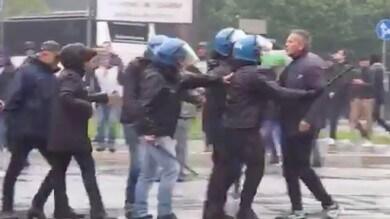Atalanta-Lazio, volano insulti: tensione tra un tifoso e Mihajlovic