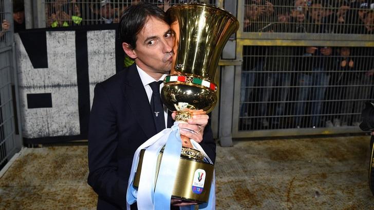 Coppa Italia, Inzaghi: «La Lazio merita questa vittoria. Mi godo la festa»