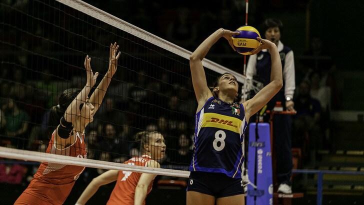 Volley: nel torneo di Montreux l'Italia supera la Turchia