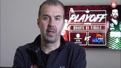 "Pianigiani: ""Ai playoff come una squadra nuova"""
