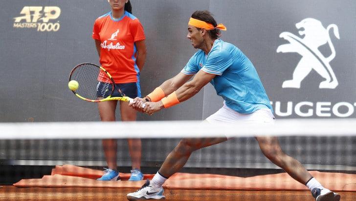 Tennis, Internazionali: Nadal show con Chardy, spagnolo agli ottavi