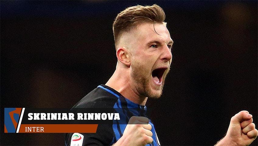 Inter, Skriniar rinnova fino al 2023