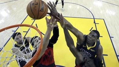 NBA Playoff: Golden State vince anche gara-2, 2-0 con Portland