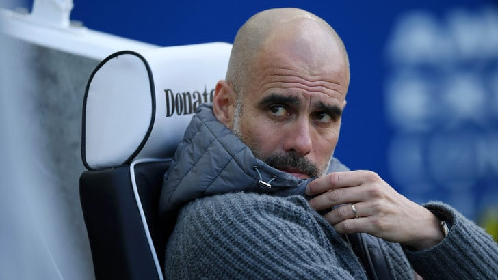 Guardiola: «Juventus? No, resto al Manchester City»