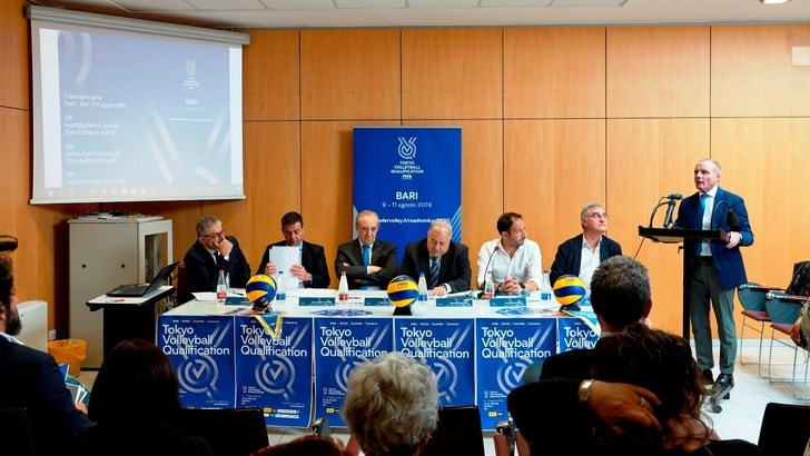 A Bari vernissage per il Torneo di Qualificazione Olimpica