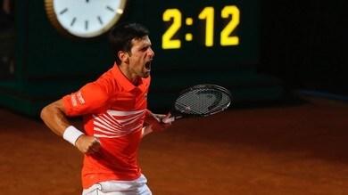 Djokovic vola in semifinale, battuto Del Potro