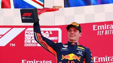 Verstappen: «Le Red Bull non sono ancora al livello delle Mercedes»