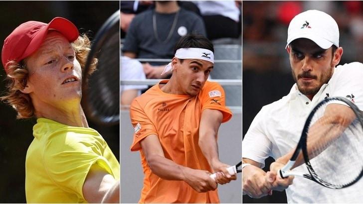 Tennis: Sinner supera il turno a Lione, bene Sonego e Fabbiano a Ginevra