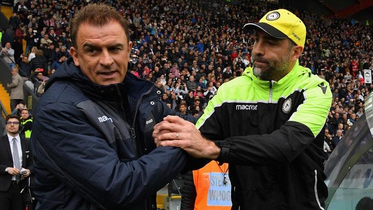 Udinese, la gioia di Tudor: «E' una vittoria fondamentale»