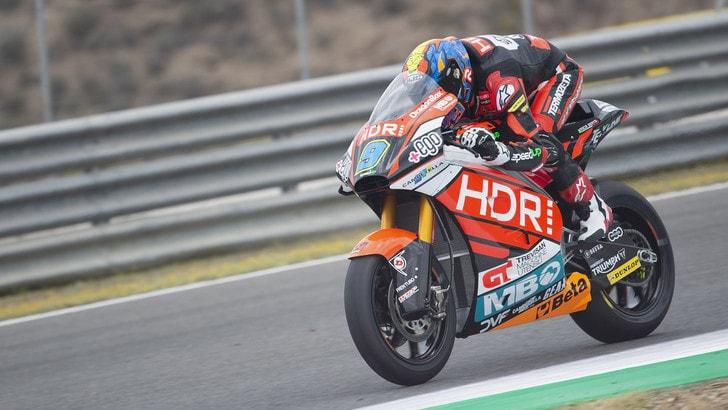 Le Mans, Navarro conquista la pole in Moto2