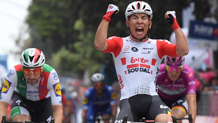 Giro d'Italia: a Caleb Ewan l'ottava tappa. Conti resta maglia rosa