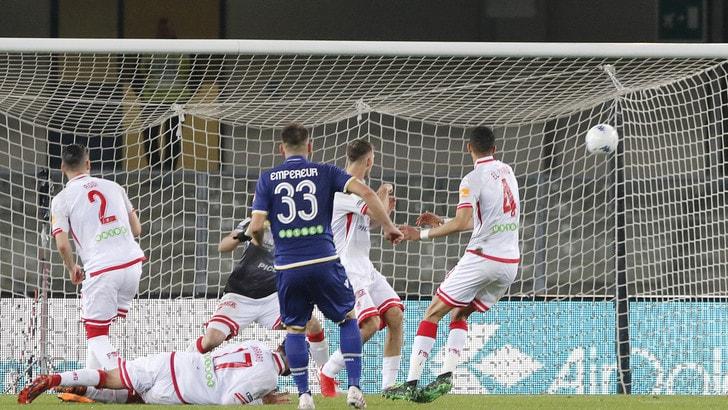 Playoff, il Verona la spunta ai supplementari: 4-1 al Perugia e semifinale con il Pescara