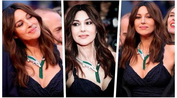 Monica Bellucci incanta a Cannes sul Red Carpet