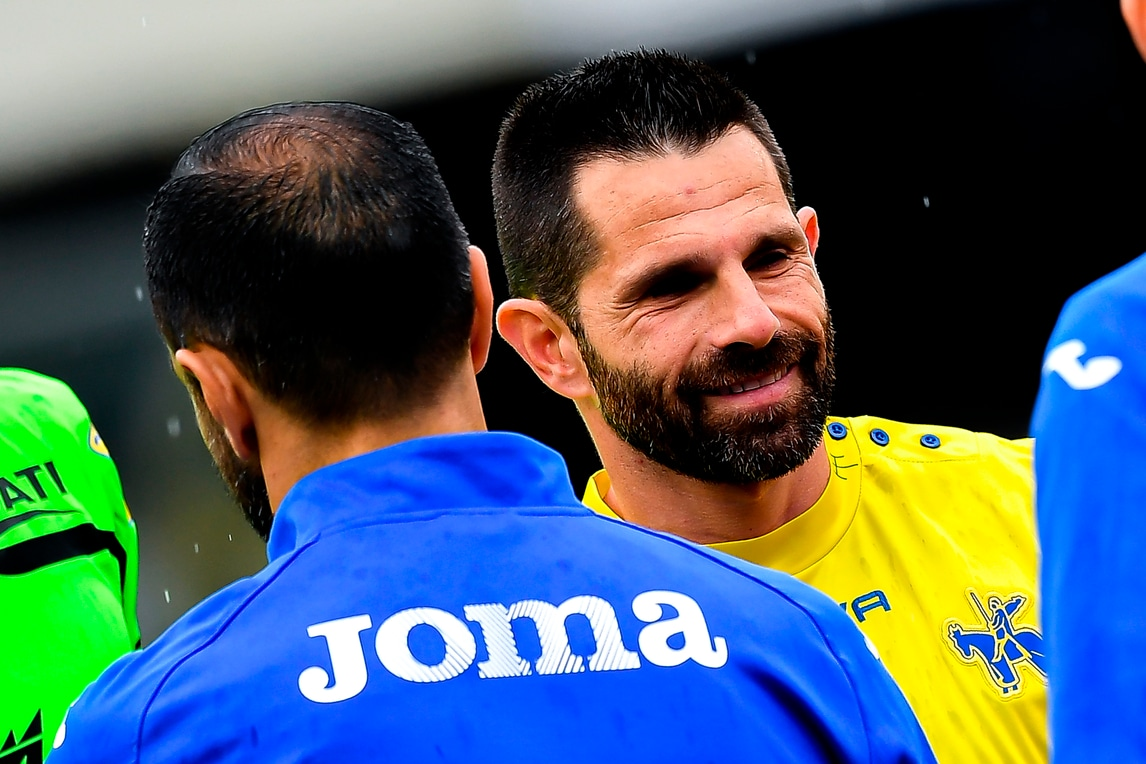 Chievo-Sampdoria 0-0: commozione Pellissier, addio da brividi
