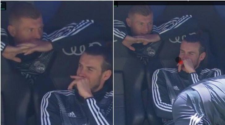 Il Real perde e Kroos ride con Bale: messaggio alla Juve?