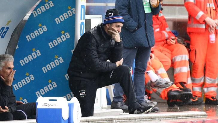 Sampdoria, Giampaolo: «Futuro? Parleremo con serenità, come Allegri con la Juventus»