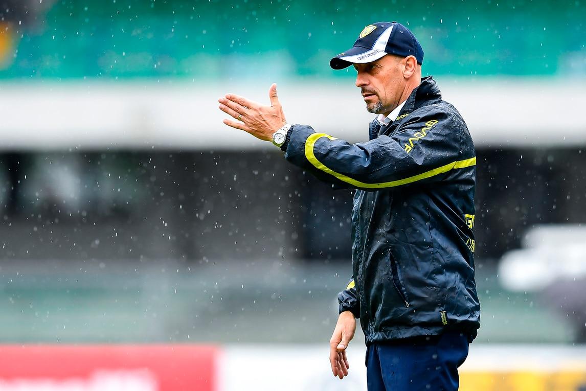 Chievo, Di Carlo: «Pellissier un campione, il più forte della rosa»