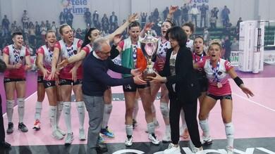 Caserta batte Orvieto e festeggia la promozione in A1