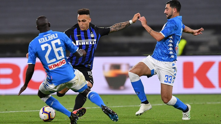 Serie A Napoli-Inter 4-1, il tabellino
