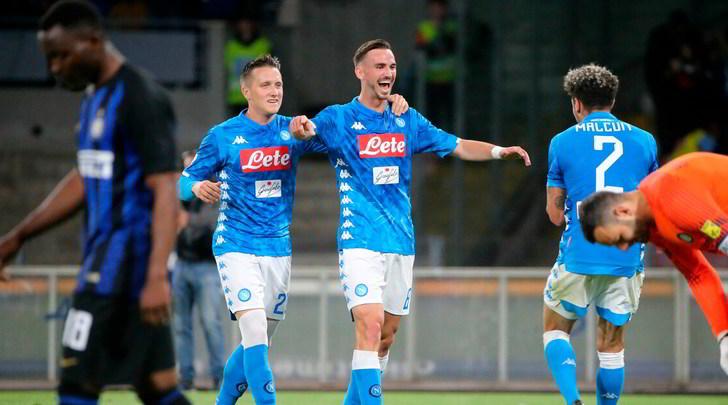Napoli-Inter 4-1: Spalletti umiliato da Ancelotti