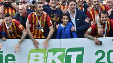Lecce, Sticchi Damiani: «Anche noi sorpresi dalla promozione in Serie A»