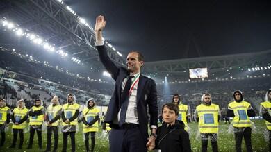 Allegri nella Hall of Fame del calcio: «La Juventus vincerà anche dopo di me»