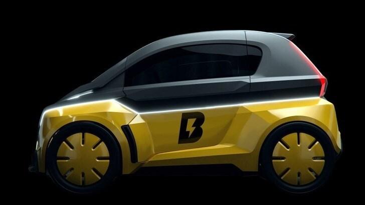 B-Nano, Usain Bolt presenta la sua microcar elettrica