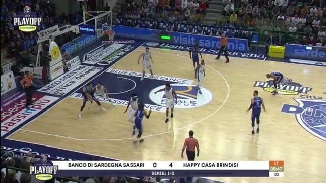Banco di Sardegna Sassari - Happy Casa Brindisi 106-97