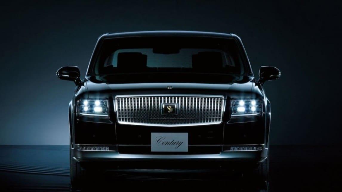 Addio Rolls Royce, la nuova limousine dell'imperatore è la Toyota Century
