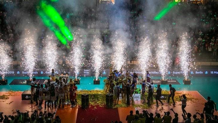 le squadre italiane vittoriose in Europa ricevute a Palazzo Chigi